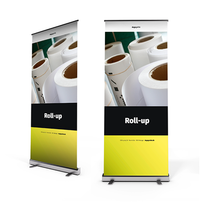Roll-up, budget, 85 x 200 cm
